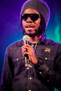 Chronixx performing in Trinidad recently. PHOTO BY YOHANCE SIMONETTE
